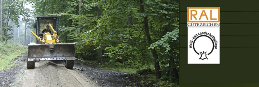 Forstlicher Wegebau
